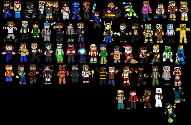 minecraft_chibis__youtubers_by_goldsolace-d5ylesw.png